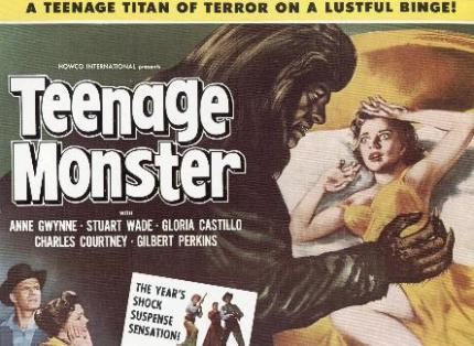 poster2 Teenage Monster