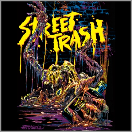 FRIGHT-RAGS-Street-Trash-T-Shirt