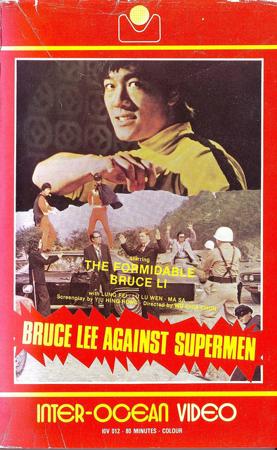 bruce lee contre superman