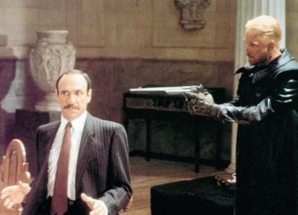 SLIPSTREAM, from left: F. Murray Abraham, Mark Hamill, 1989, © Image Entertainment