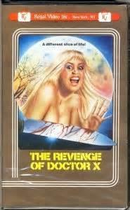 Revenge Of Doctor X Poster