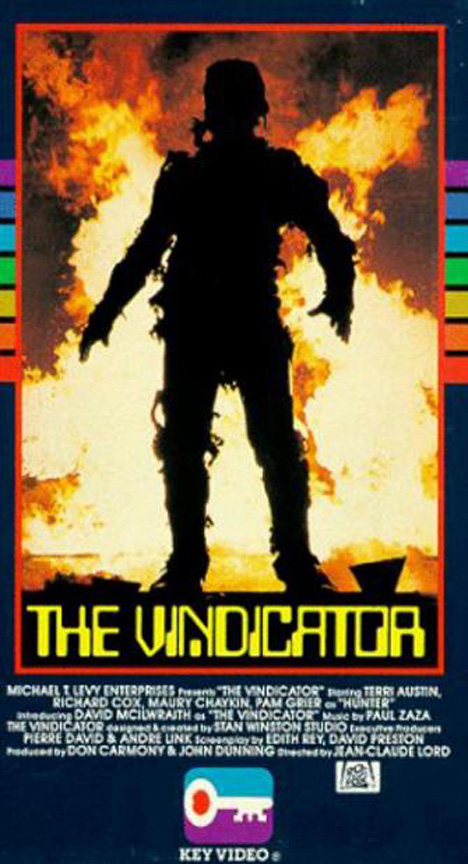 Vindicator Poster