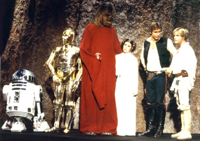 Star Wars  CHRISTMAS SPECIAL   1978 Credit: Lucas Films/Courtesy Neal Peters Collection